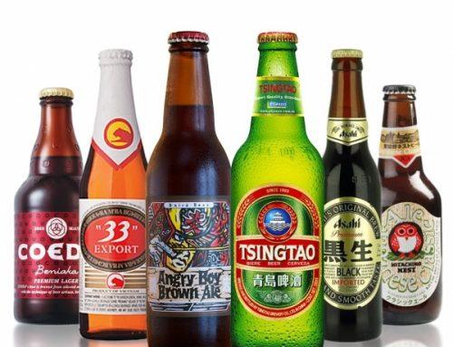 sur 10 bières asiatiques